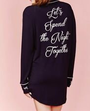 NWT Wildfox Couture Let's Spend The Night Together Sweet Dream Sleepshirt XS,S,M