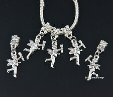 Cute Silver Plated Love Angel Dangle Charm Beads Fit European Chain Bracelet