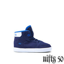 SUPRA TODDLER VAIDER HIGH TOP - NAVY/BLUE-WHITE