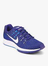 New Nike Men's Air Zoom Structure 19 Blue Mesh Running Shoes