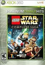 LEGO Star Wars: The Complete Saga -- Platinum Family Hits XBOX 360 Complete!!
