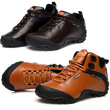 Mens Outdoor Casual Sport Shoes Hiking Hunting Camping Climbing Waterproof Boots