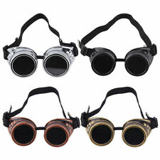 New Cyber Goggles Steampunk Glasses Vintage Welding Punk Gothic Victorian DE
