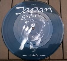 JAPAN GHOSTS PICTURE DISC VERY RARE 7 INCH VINYL