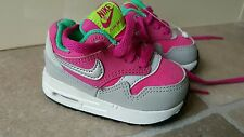 Baby nike air max trainers size 2.5 uk pink girls