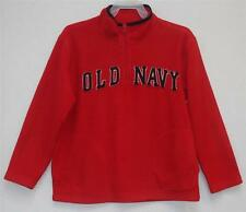 Old Navy Boys Fleece Pullover ½ Zip Top Red Size Small in EUC