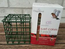 Chapelwood Wild Bird Suet Cakes with Feeder