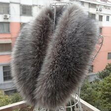 Women Girls Soft Faux Fur Retro Scarf Collar Winter Warm Neck Wrap Stole Fashion