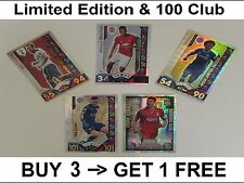 Match Attax 16/17 Limited Edition & 100 Club & Legends 100 2015/2016 Hundred