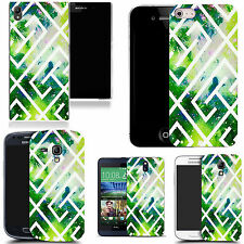motif case cover for many Mobile phones - green maze