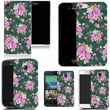 pictoral case cover for most Popular Mobile phones - traditional flower
