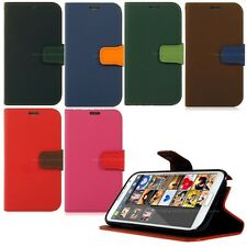 New Mount Wallet Diary Case for Various Samsung Galaxy Smart Phone/ S6 _