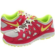 Nike Dual Fusion Run 2 (GS) 599793-005 Volt-Pink-White Girls/Wmns Select Ur Size