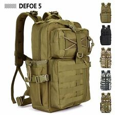 Military USA Tactical Assault Backpack Molle System 3 day Life Saver Bug Out Bag