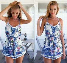 Sexy Women Summer Jumpsuit Party Playsuit Trousers Pants Clothes Clubwear Romper