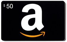 $50 Amazon Gift Card in gift box!! Next Day / 2 DAY SHIPPING VIA UPS