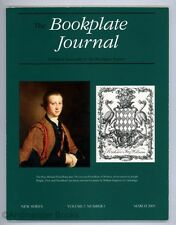Latcham : The Bookplate Journal New Series Volume 3 Number 1 March 2005 1st Ed.