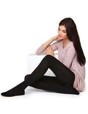 200 DENIER THERMAL FLEECE TIGHTS BY SILKY SUPER WARM - 4 COLOURS 4 SIZES