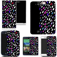 motif case cover for various Popular Mobile phones - multi droplet