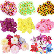 Artificial Silk Orchid/Daisy/Japonica Flower Heads Wedding Office Party Decor
