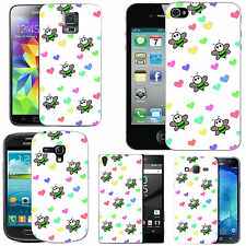 motif case cover for various Mobile phones  -   green bee love.