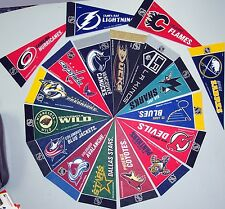 """Officially licensed 9"""" NHL Team Pennants - Pick Your Favorite!"""