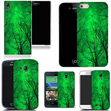 motif case cover for many Mobile phones - green forest
