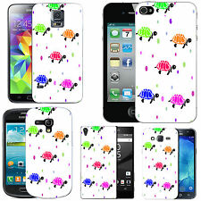 motif case cover for various Mobile phones - multi turtle droplet