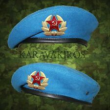USSR Soviet Style Russian Army Uniform Blue VDV Paratrooper Beret Airborne