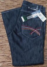SOUTHPOLE 5180 RED AUTHENTIC YOUNG MENS DENIM JEANS DARK SILVER LOOK LIST $50