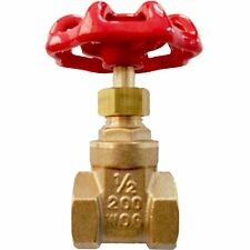 Kinetic GATE VALVE Brass Made & Twist Handle Operation – 15mm, 20mm Or 25mm