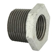 Kinetic REDUCING HEX BUSH Galvanised Standards Approved - 20x15mm Or 25x20mm