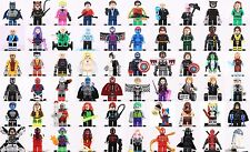 Dc comics Super Hero Marvel X-Men Minifigure choose your love set 3 custom Lego