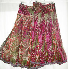 Long Skirt Anu by Natural Fashions Tropical Fuchsia 4091 NWT Lined