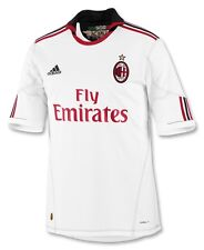 AC Milan adidas Authentic Away Supporter Jersey 2010-11 New W/Tags XL
