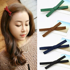 2 Pcs Wholesale Bowknot Hairpin Kids Baby Girls Hair Bow Clips Barrette  Hot