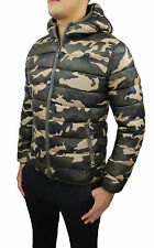 JACKET MAN'S WINTER COAT MILITARY GREEN SLIM FIT MIMETIC BOMBER JACKET WINTER