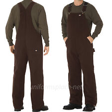 Dickies Bib Overalls Mens Sanded Duck Insulated Bib Overall Pants TB244
