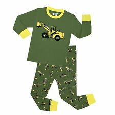 Toddler Pajamas Boy's 'Christmas Snowman' Baby Cotton Sleepwear Sets 2Pcs Outfit