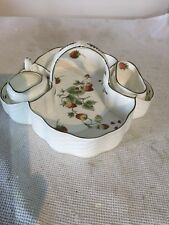 Coalport Strawberry- Strawberry Basket Tray