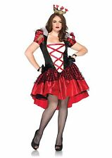 Plus Size Sexy Royal Red Queen of Hearts Halloween Costume - Leg Avenue