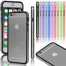 TPU Rubber Ultra Thin Bumper Case Frame Protective Cover For iPhone 7 / 7 Plus
