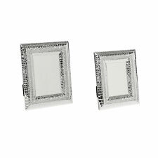 PHOTO PICTURE FRAME CROCO LOOK CROCODILE SNAKE LOOK SILVER 10x15 13x18cm