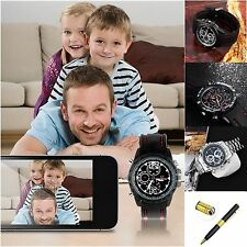 4/8GB Waterproof HD Wrist DV Watch Camera Digital Video Mini DVR Camcorder Pen D