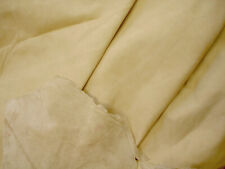 Champagne cowhide for leathercraft Small pieces Barkers Hide & Leather Skins 275