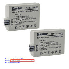 Kastar Battery for Canon LP-E5 LC-E5 Canon EOS 1000D, EOS 450D, 500D, EOS Kiss F