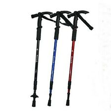 hiking stick walking stick cane adjustable with flashlight built in bright LEDs