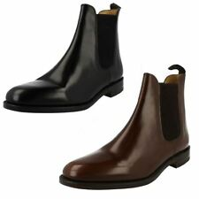Mens Loake Slip On Leather Ankle Boots 290
