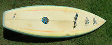 Vintage Nev surfboard 6 ft 2 inches x 19 7/8 x 2 5/8