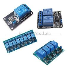 1/2/4/6/8 Channel Relay Board Module Optocoupler LED for Arduino PiC ARM AVR 5V